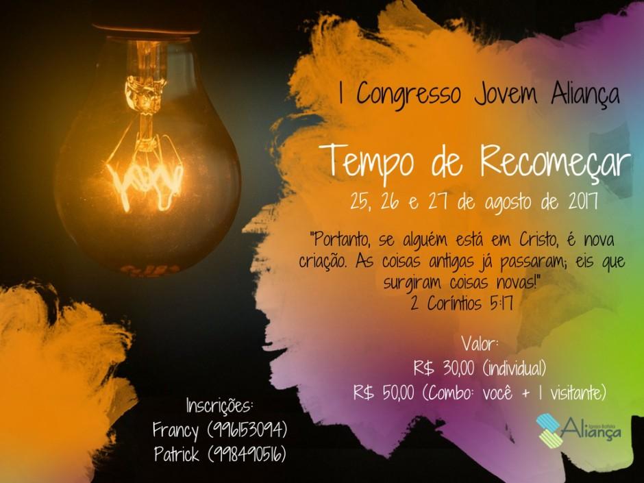 Inscrição do Congresso de Jovens