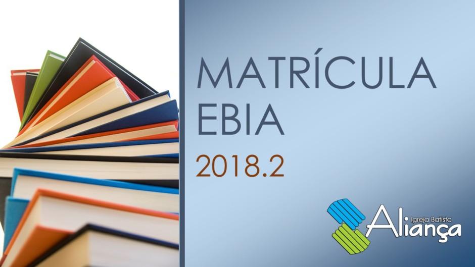 Matrícula EBIA